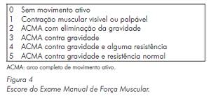 tabela força muscular